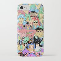it crowd iPhone & iPod Cases featuring Crowd by Joseph Falzon