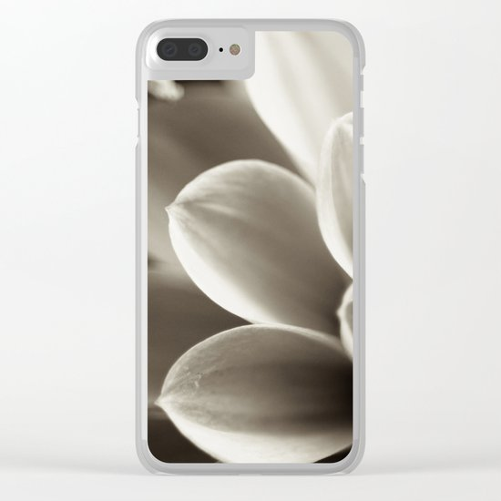 Swirling Thoughts in My Head Clear iPhone Case