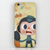 megaman iPhone & iPod Skins featuring Megaman by Peerro