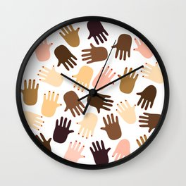 Don't get all handsy Wall Clock