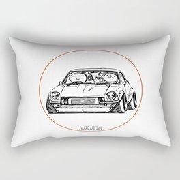 Crazy Car Art 0095 Rectangular Pillow