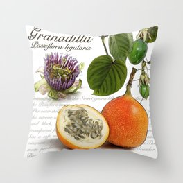 Granadilla Throw Pillow