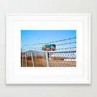 memphis Framed Art Prints featuring Memphis by Alissa Fleck