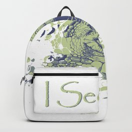 i see you - ayes Backpack