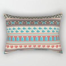 Fair-Hyle Knit Rectangular Pillow