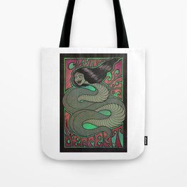 Flying She Serpent Tote Bag