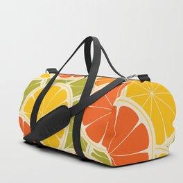 Orange, lemon and grapefruit Duffle Bag