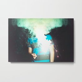 Cloud of Smoke Metal Print