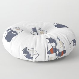 Shakespeare Characters Floor Pillow