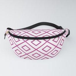 Pink Diamond Pattern 2 Fanny Pack