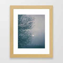 Moon Magyk Framed Art Print