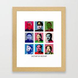 Dictart Framed Art Print