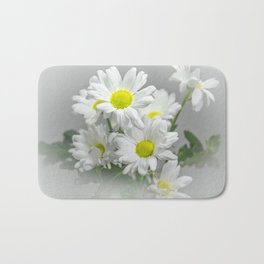 Chrysanths Bath Mat