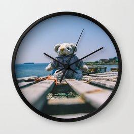 Teddy Bear Wall Clock