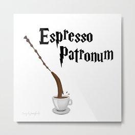 Espresso Patronum design Metal Print