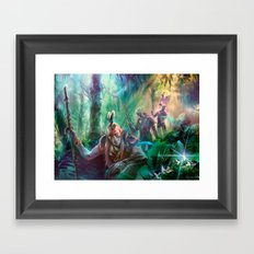 Into the Wilds Framed Art Print