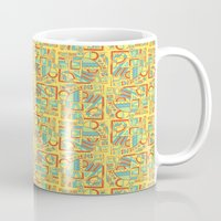 safari Mugs featuring Safari by Kancata