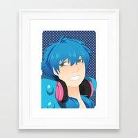 dmmd Framed Art Prints featuring Aoba by Liyu