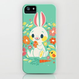 Sweetest Easter Bunny iPhone Case