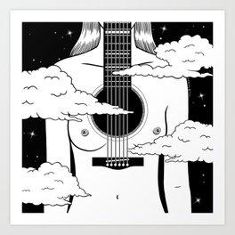 Empty Sound Art Print
