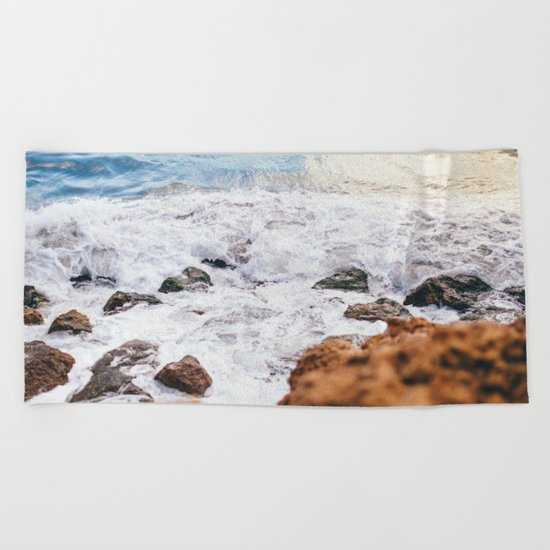 Wild Summer #society6 #print #decor #art Beach Towel