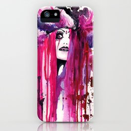 Suicide: Pink Madness iPhone Case
