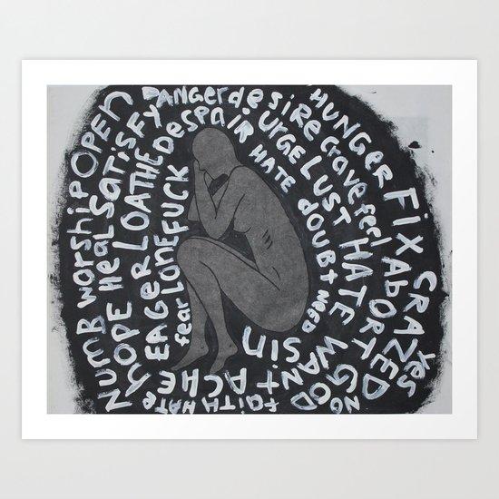 Devil Art Print