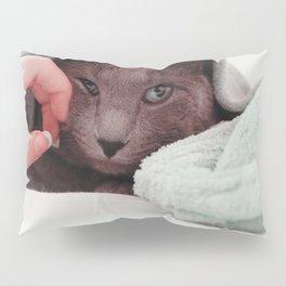 Cat by Giovanna Karla (givi) Pillow Sham