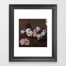 New Order - Power Corruption Lies Framed Art Print