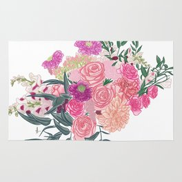 Roses Bouquet Rug