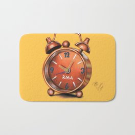 Alarm Clock Bath Mat