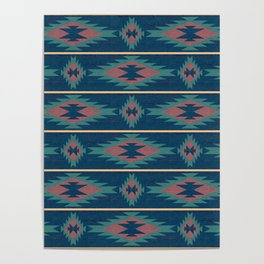 Native Spirit Pattern Poster