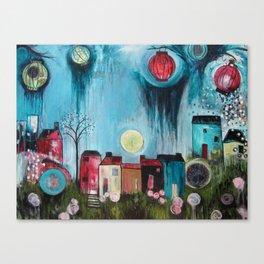 Home Love Belong Canvas Print