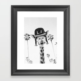 GIRO FLOW Framed Art Print