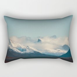 Cloudy Mountains Rectangular Pillow