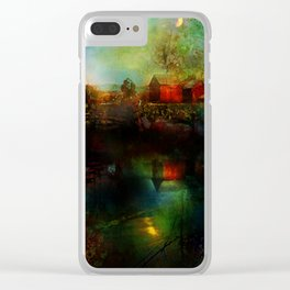 Country atmosphere Clear iPhone Case