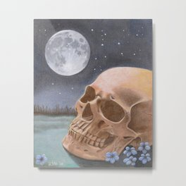 The Graveyard Shift Metal Print