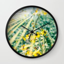 The Growings-On of the Mojave Roadside Society Wall Clock