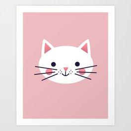 Friendly Cat Art Print