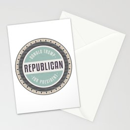 Trump For President Stationery Cards