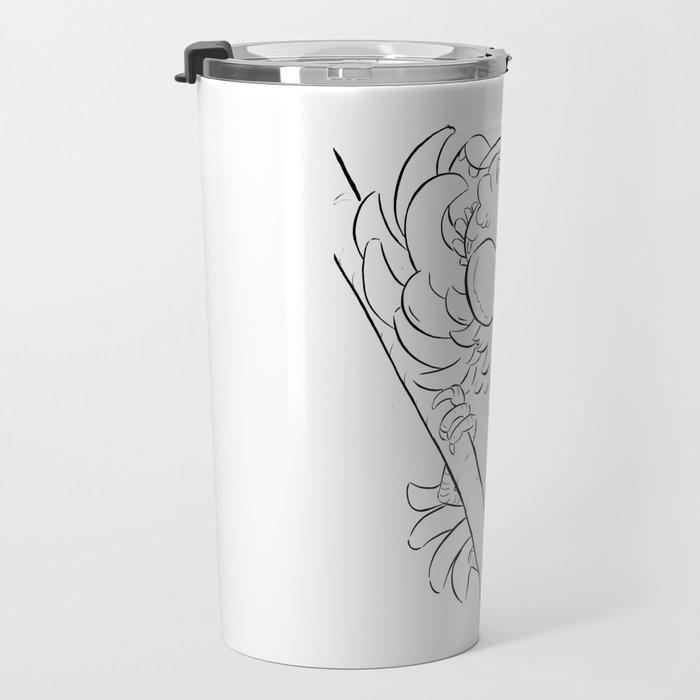 Pirate Parrot - ink Travel Mug