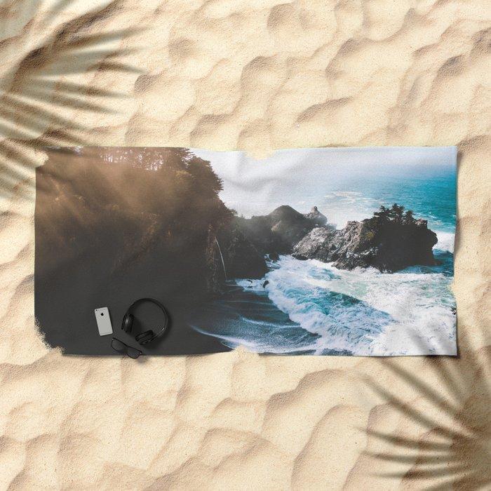 On The Edge Beach Towel