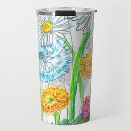 dandelion blowballs Travel Mug