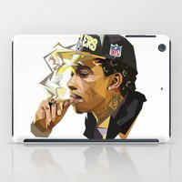hip hop iPad Cases featuring Hip-hop cubism by Katty Zyu