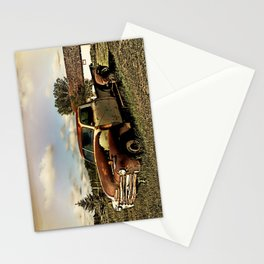 Rusty '51 Chevy Pickup Stationery Cards