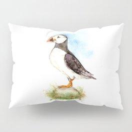 Puffin on a Rock Pillow Sham