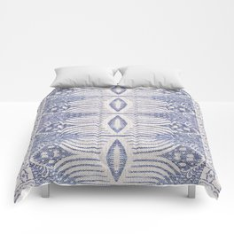 FRENCH LINEN TRIBAL IKAT Comforters