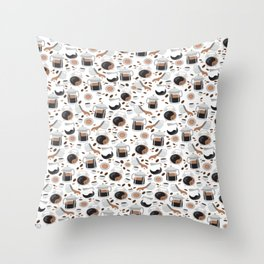 It's coffee time! Throw Pillow