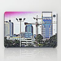 nashville iPad Cases featuring Nashville Grit by Andooga Design