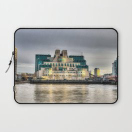 Secret Service Building London Laptop Sleeve